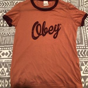 OBEY short sleeved tee NWOT